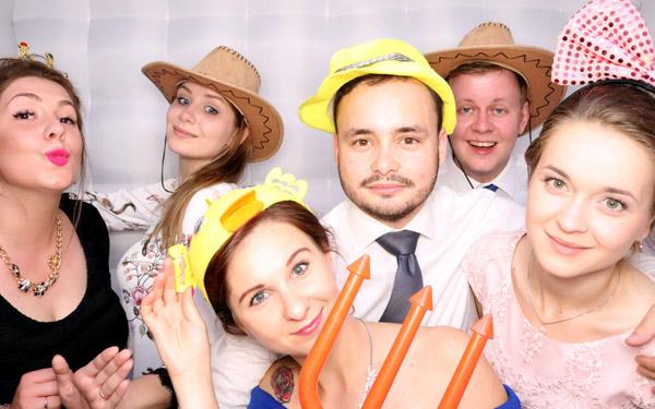 fotobudka na zdjęcia wesele Piła